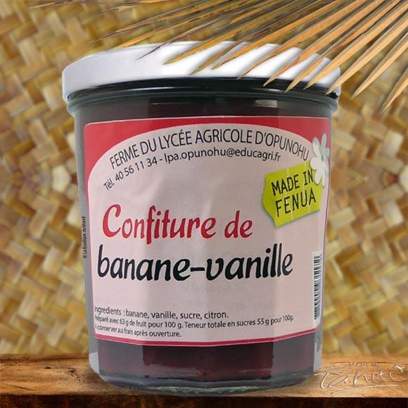 CONFITURE OPUNOHU MOOREA BANANE VANILLE350G