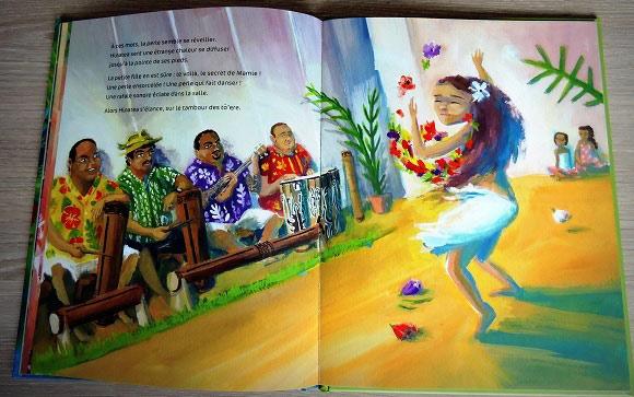 Danse Hinatea ! Histoire pour enfants d'une petite fille polynésienne.