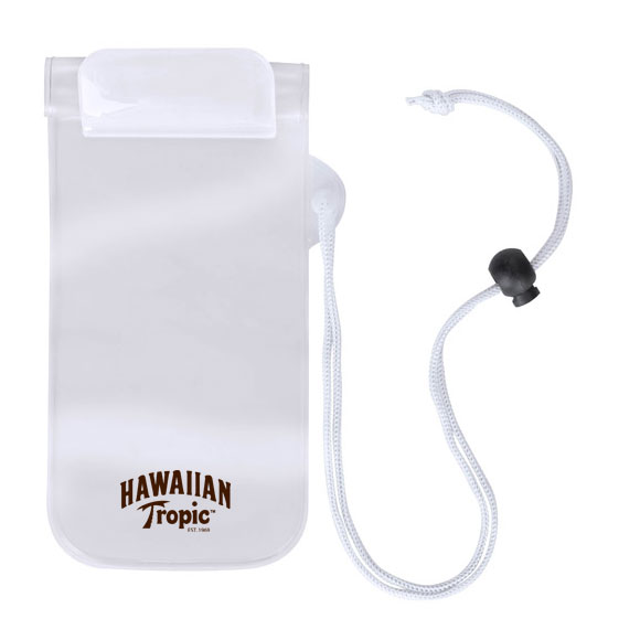 Une housse de protection de plage pour smartphone (contre le sable, l'eau, les embruns...)
