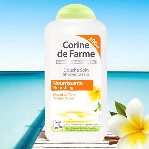 DOUCHE SOIN NOURRISSANT 300ML MONOI CORINE DE FARME
