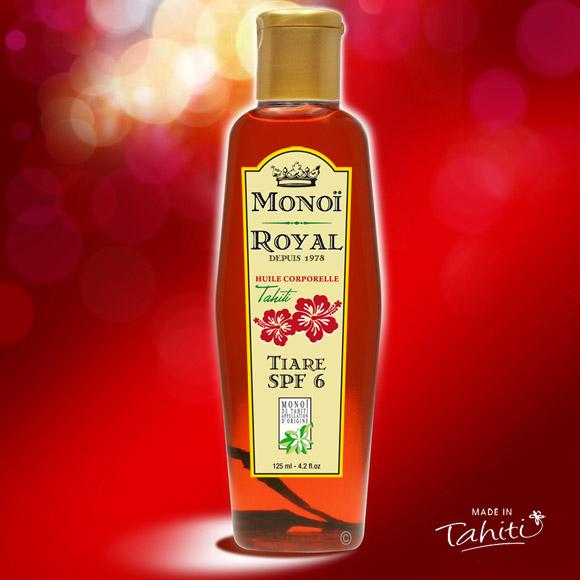 La Boutique du Monoï a sélectionné pour vous ce Monoï Royal Bronzant 125 mL parfum Tiare fabriqué à Tahiti depuis 1978. Une marque Tahiti Oil Factory.