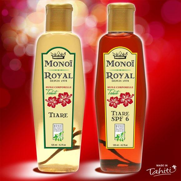 La Boutique du Monoï a confectionné pour vous ce Duo de Monoï Royal 125 mL fabriqué à Tahiti depuis 1978. Une marque Tahiti Oil Factory.