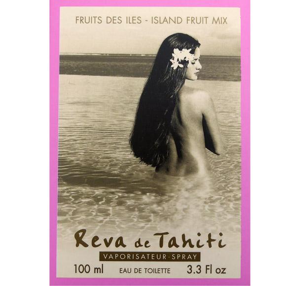 LA VAHINE TAHITI DE L'EAU DE FLEUR DE TIARE REVA DE TAHITI 100mL