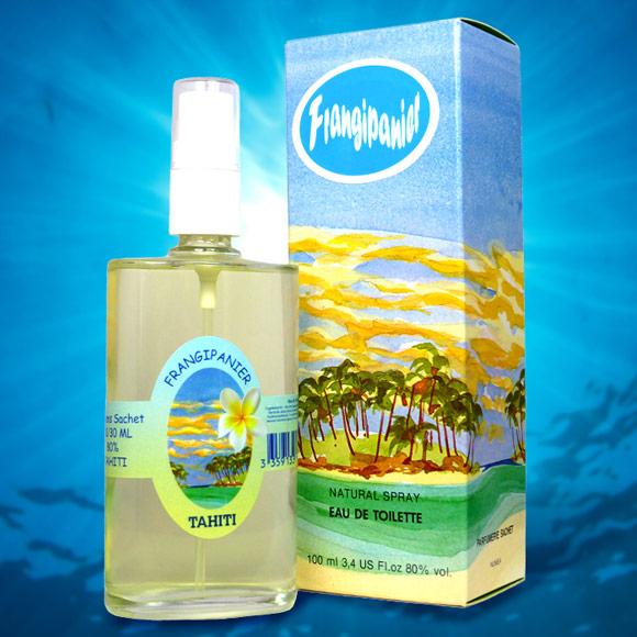 Parfum floral de fleurs de Frangipanier, le Tipanier Tahiti. Un parfum rare pour les amateurs de fleurs exotiques...