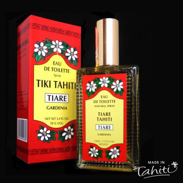 Un grand classique des parfums polynésiens ! Cette Eau de Toilette Tiki Tahiti 100 ml au parfum du Tiaré est fabriqué à Tahiti-Faaa par la Parfumerie Tiki et rencontre un énorme succès auprès de nos clients !