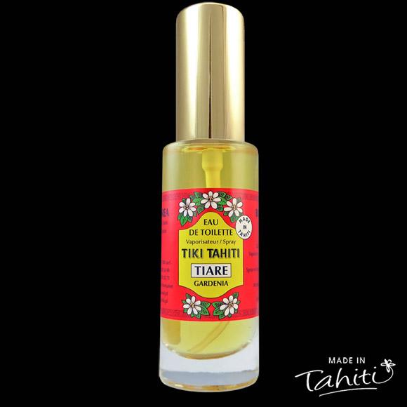 n classique des parfums polynésiens ! Cette Eau de Toilette Tiki Tahiti 30 ml au parfum du Tiaré est fabriqué à Tahiti-Faaa par la Parfumerie Tiki et rencontre un énorme succès auprès de nos clients !