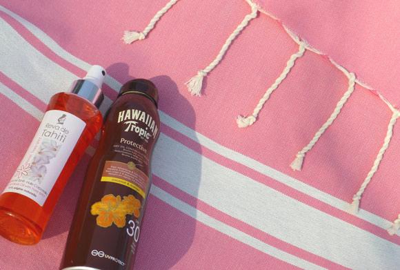 Fouta Classique : exemple du design, bandes et rayures, propre à cette collection de foutas traditionelles 2 couleurs.
