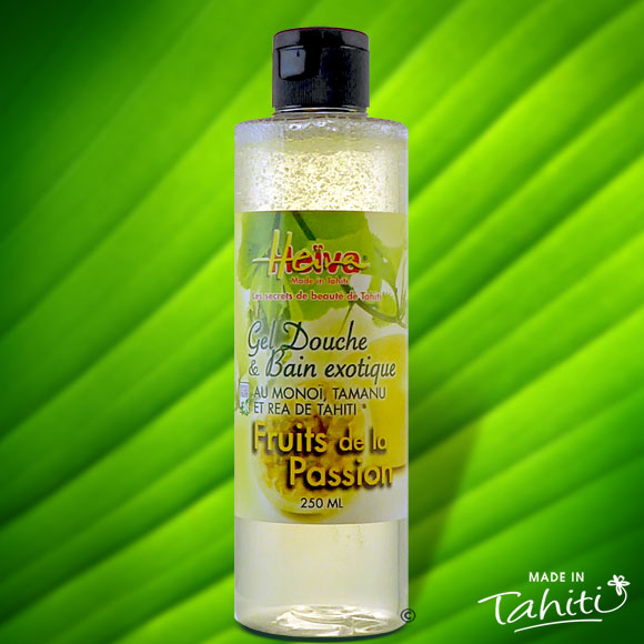 GEL DOUCHE MONOI TAMANU HEIVA FRUITS DE LA PASSION 250mL