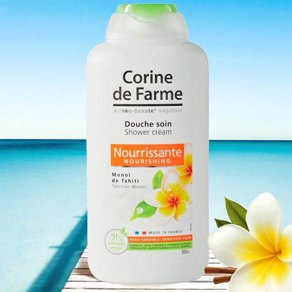 GEL DOUCHE NOURRISSANT AU MONOI CORINE DE FARME 500ML