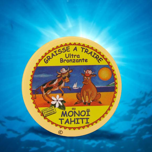 L'image mythique et emblématique de ce baume fondant La Tahitienne avec ses 2 vaches sur la plage rappelle les années 70's. Avis aux collectionneurs !!!