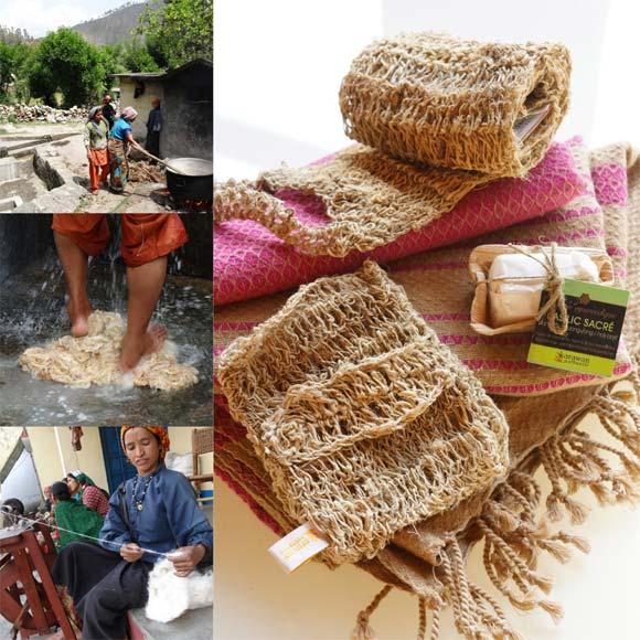 Ce gratte dos en chanvre naturel est signé par notre partenaire et fournisseur français Karawan-authentic, qui certifie bien sûr la provenance de ce produit (L'inde pour ce Chanvre de l'Himalaya).