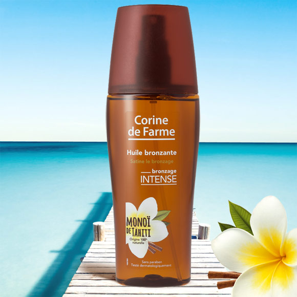 HUILE BRONZANTE 150ML SPRAY CORINE DE FARME