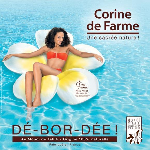 Corine de Farme, la marque Beauté de Miss France.