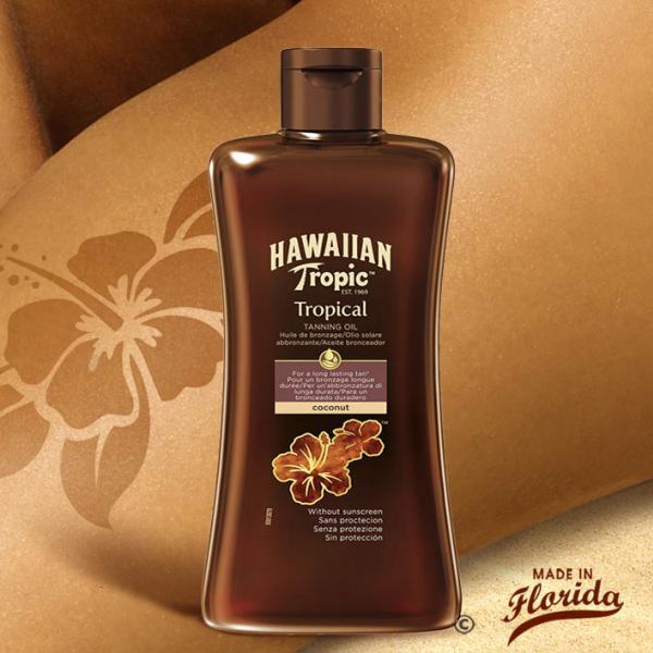 Cette huile bronzante sans protection convient aux peaux déjà hâlées et aux aficionados de l'ultrabronzage. Elle hydrate votre peau pour la rendre éclatante et lumineuse.