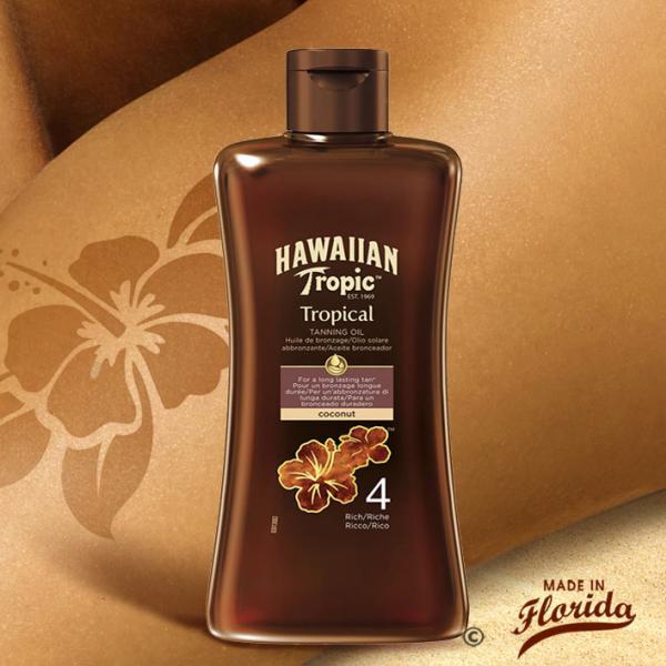 Cette huile bronzante Richeconvient aux peaux déjà hâlées et aux aficionados du bronzage. Elle hydrate votre peau pour la rendre éclatante et lumineuse.