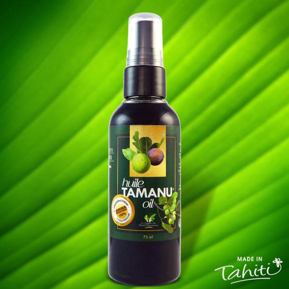 HUILE DE TAMANU TAHITI EXTRA VIERGE RANGIROA 75 ML