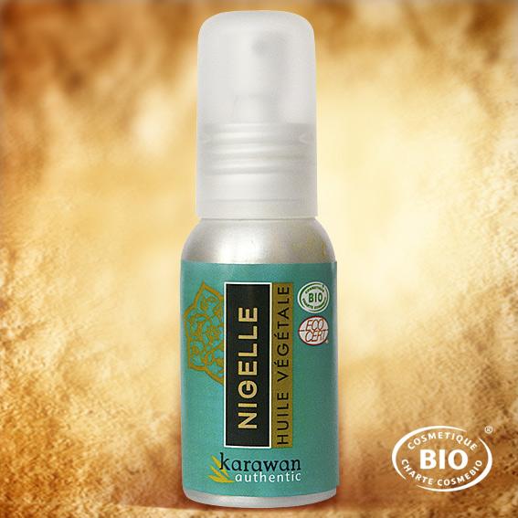 L'huile de Nigelle est un remède naturel qui était déjà utilisé dans la Médecine des Pharaons. En effet, un flacon de cette huile fut découverte dans le tombeau de Toutankhamon laquelle devait, sans doute, adoucir les souffrances dans l'au-delà.