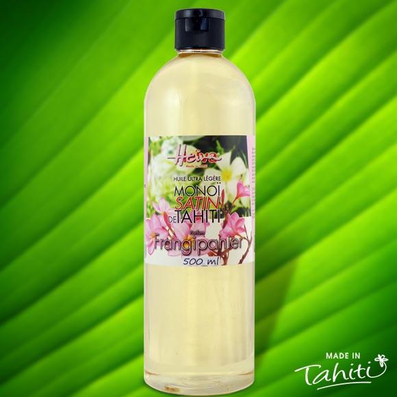pratique avec son spray, ultra légère pour les peaux délicates et très fines, pénètre rapidement la peau pour la satiner sans effet de gras résiduel. Ce Monoï Satin contient 50% de Monoï de Tahiti Appellation d'Origine.