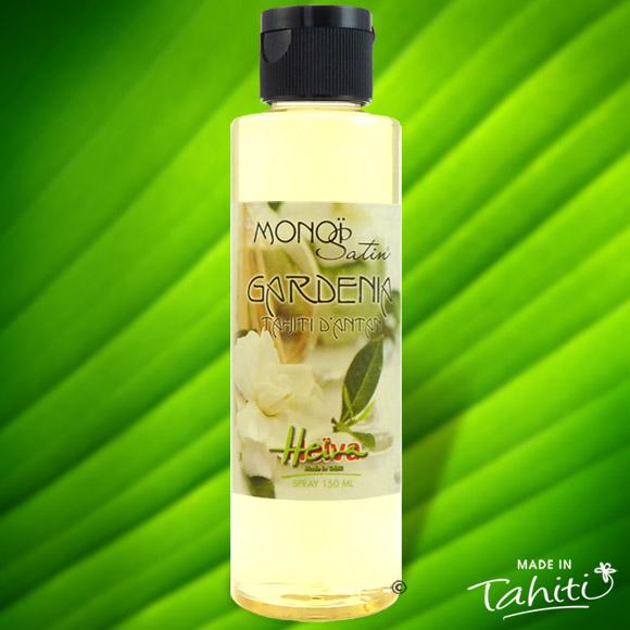 Cette huile de soin ultra légère pour les peaux délicates et très fines, pénètre rapidement la peau pour la satiner sans effet de gras résiduel. Ce Monoï Satin contient 50 % de Monoï de Tahiti Appellation d'Origine.