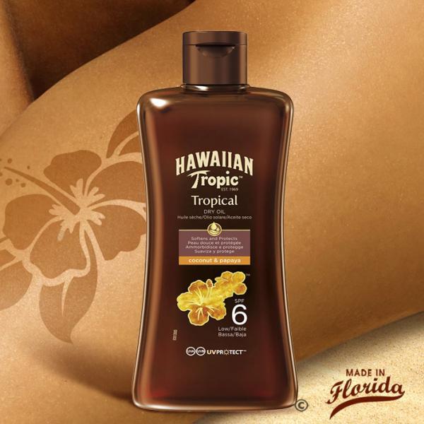 Cette huile protectrice sèche vous offre un voile efficace contre les rayons UVA/UVB du soleil et hydrate votre peau pour la rendre éclatante et lumineuse.