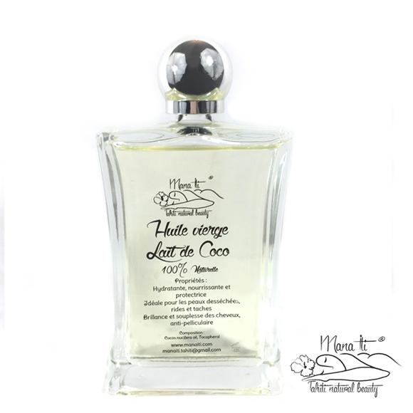La Boutique du Monoï vous propose de découvrir les rituels de soins Tahiti Massage et leurs bienfaits, avec cette huile vierge 50 ml de Lait de Coco.