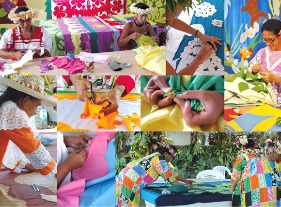 Page intérieure Te Tifaifai © Univers Polynésiens
