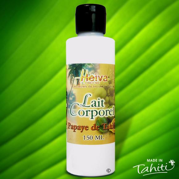 Ce lait corporel à la Papaye de Tahiti est enrichi de 2 % de Monoï de Tahiti Appellation d'Origine et d'extraits végétaux de Tahiti comme le célèbre Tamanu.