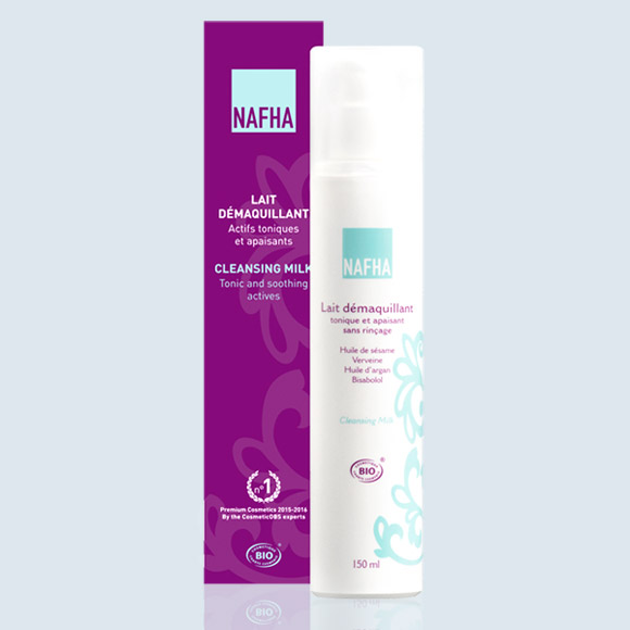 LAIT DEMAQUILLANT TONIQUE APAISANT NAFHA BIO 150mL