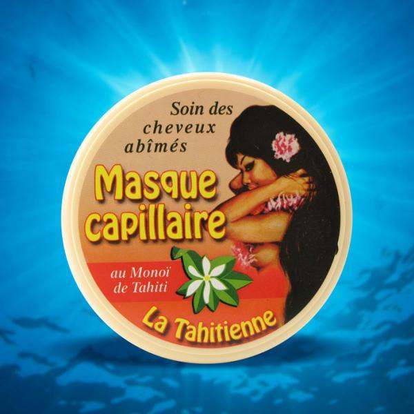 Masque Capillaire La Tahitienne pour un soin complet du cheveux secs, abimés.