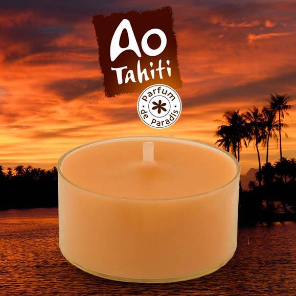 MINI BOUGIE AU MONOI AO TAHITI PARFUM PARADIS 15g