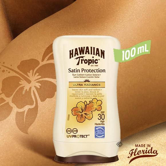 Cette lotion protectrice satin bien pratique en mini flacon nomade vous offre une barrière efficace contre les rayons UVA/UVB du soleil et hydrate votre épiderme pour réparer des agressions du soleil.
