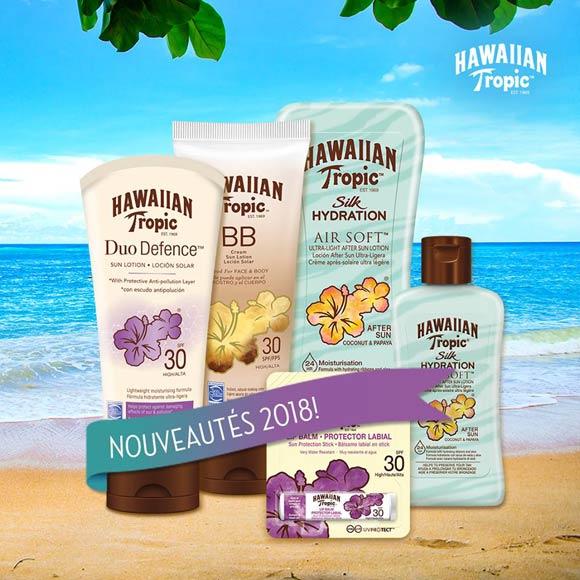Toutes les nouveautes Hawaiian Tropic 2018