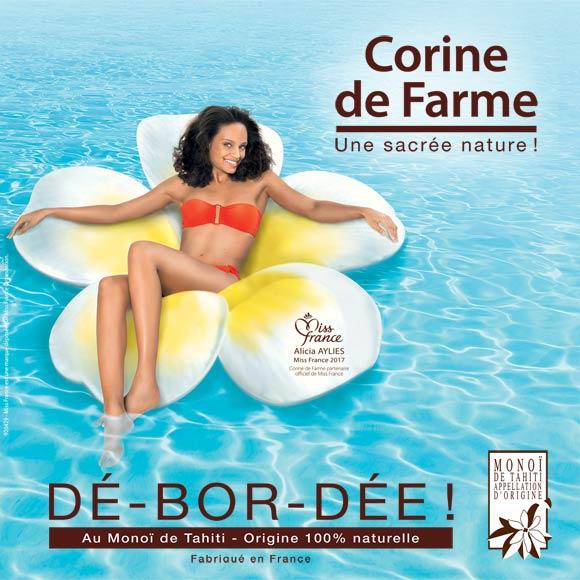 Corine de Farme, la marque Beauté de Miss France