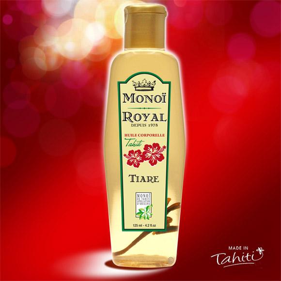 La Boutique du Monoï a sélectionné pour vous ce Monoï Royal 125 mL fabriqué à Tahiti depuis 1978. Une marque Tahiti Oil Factory.