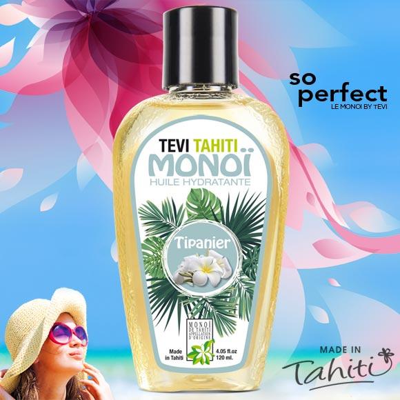 MONOI TEVI TAHITI FRANGIPANIER TIPANIER TAHITI 120ML