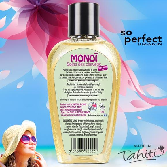 MONOI TEVI TAHITI SPECIAL SOINS DES CHEVEUX 120ML