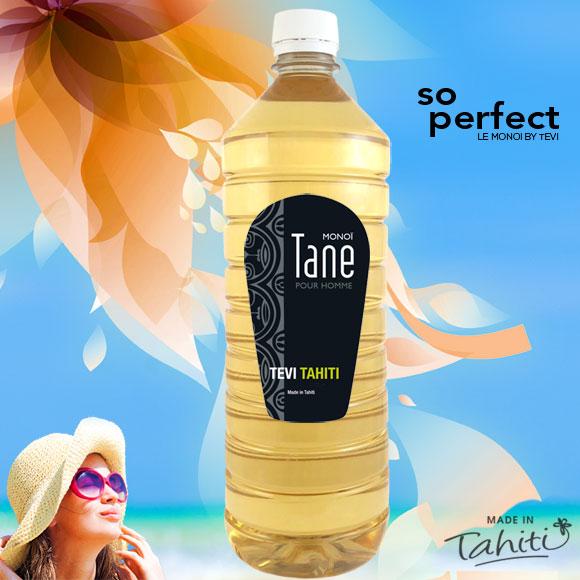 MONOI TEVI TAHITI TANE PARFUMÉ POUR HOMME 1 LITRE