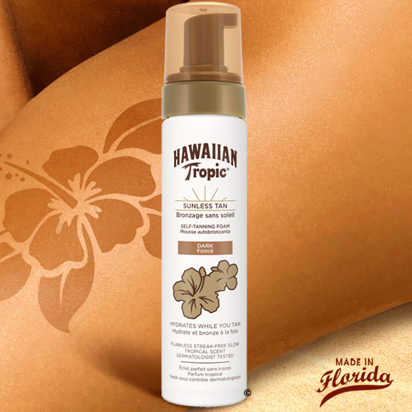MOUSSE AUTOBRONZANTE DARK 200 ML HAWAIIAN TROPIC