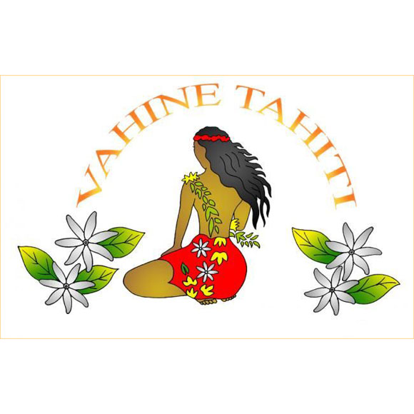 PAREO BALI ART FAIT MAIN VAHINE TIARE TAHITI
