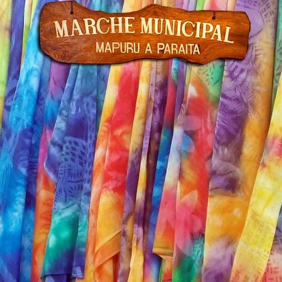 Les paréos soleil du Marché de Papeete sont tous uniques !