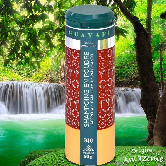 POUDRE DE SHAMPOOING 50G 100% NATURELLE GUAYAPI