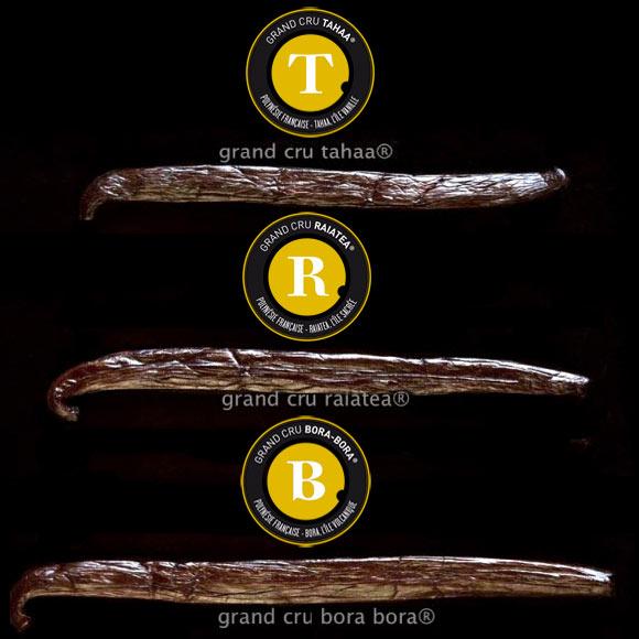 Les Grands Crus Tahiti Vanille ne se différencient pas uniquement par la taille de la gousse : chaque Grand Cru offre les arômes subtils de son Terroir : chaque gousse est une pépite de saveurs et de senteurs exceptionnelles...