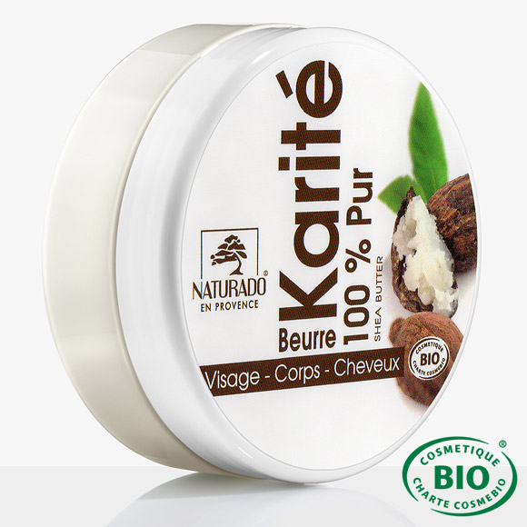 PUR BEURRE DE KARITÉ 100% NATUREL NATURADO 135G