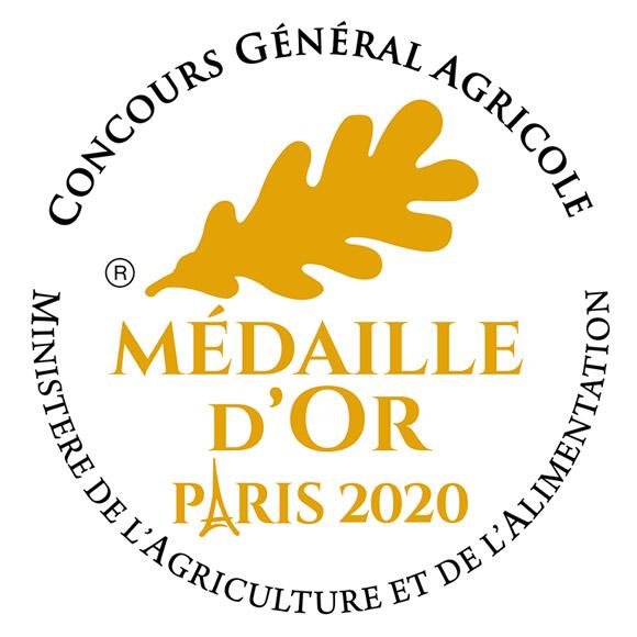 Rhum Tamure Dream récompensé en 2019 par la Médaille d'Or au Concours Général Agricole de Paris