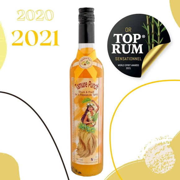 Médaille d'Or TOP RUM 2020 - 2021