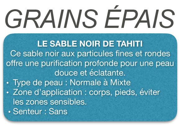 Voir Protocoles de soins Tahiti Massage : Gommage Corps.
