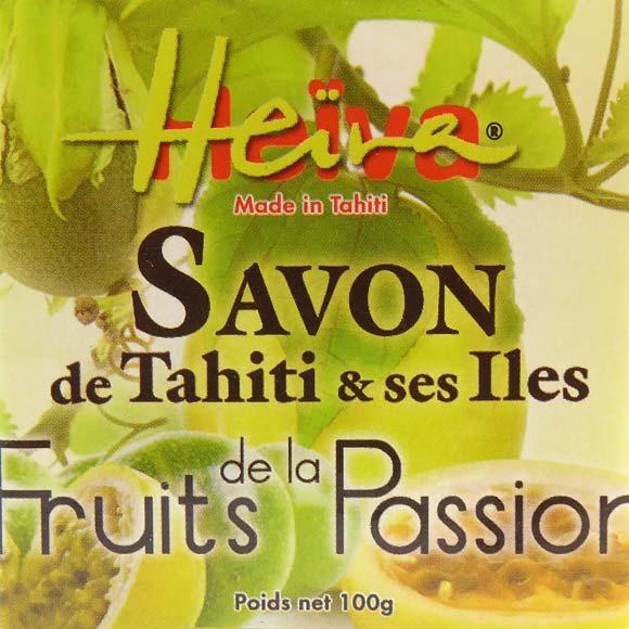 SAVON AU MONOI HEIVA PARFUM FRUITS DE LA PASSION 100G