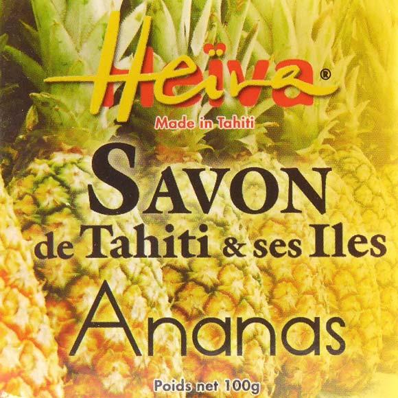 SAVON AU MONOI HEIVA TAHITI PARFUM ANANAS 100G