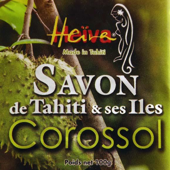 SAVON AU MONOI HEIVA TAHITI COROSSOL 100G