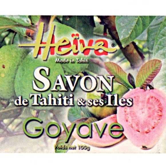 SAVON AU MONOI HEIVA TAHITI GOYAVE 100G